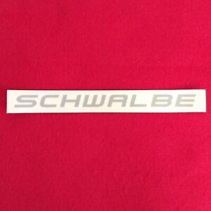 original genuine NEW Schwalbe tires sticker sheet decal