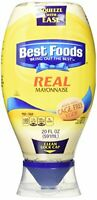 Best Foods Squeeze Real Mayonnaise 20 oz  Pack of 3