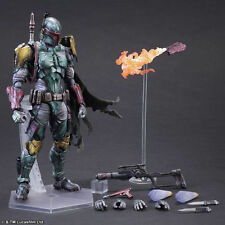 Square Enix Play Arts Kai Star Wars Boba Fett Action Figure New IN box