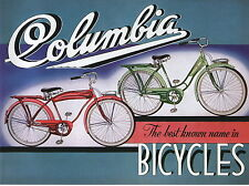 1941 Columbia Bicycle Catalog antique pre war bike brochure faithful repro NEW
