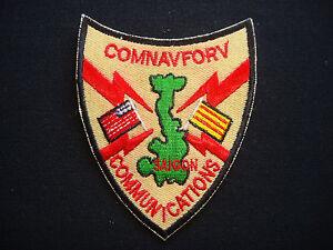 US Navy COMMANDER NAVAL FORCE COMMUNICATIONS Vietnam War Patch