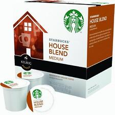 1 Case Keurig K-Cup Starbucks House Blend Single Serving Coffee 16 Cups/Case