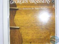 GEORGES BRASSENS LES AMOUREUX DES BANCS PUBLICS CD # 02