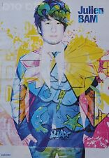 JULIEN BAM - A3 Poster (ca. 42 x 28 cm) - YouTube Star Clippings Fan Sammlung