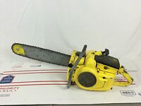 VINTAGE MCCULLOCH D-30 Chainsaw SUPER RARE LUMBER JACK D30 Pro Saw Power Head
