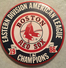 Boston Red Sox 1986 MLB Eastern Division American League Champions Button