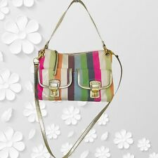 Coach | Poppy Legacy Stripe Bag #19025