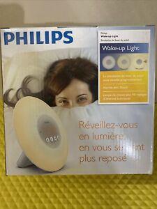 Philips Sleep Wake-up Light with Sunrise Simulation Alarm Clock White HF3500/60