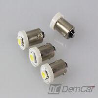 4 X LED Lampe Universel 1 SMD H6W BA9S Couleur Blanc