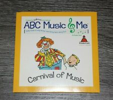 Kindermusik International ABC Music & Me Carnival of Music CD