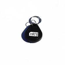 10 NFC NERI ABS Portachiavi/Portachiavi NXP Ntag 213 Samsung Android