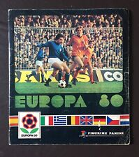 Today Only Price Panini Euro 80 / Europa 1980 Complete Album No Writing