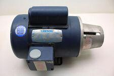 Leeson Electric Motor 11090500 C6C17FK4F 3/4 HP 1725 RPM D56C FR 115/208-230V TE
