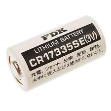 1 Stück 2/3 A  * FDK / SANYO * CR17335 BATTERIE - CR17335SE  - 3 Volt