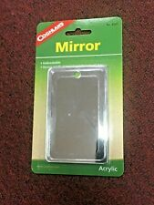 Mirror, Survival Series, Coghlan's, Unbreakable, Strong Acrylic, Weighs 1 oz.