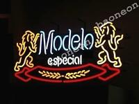 Modelo Especial Pale Lager BEER BAR PUB REAL NEON SIGN LIGHT Fast Free Shipping