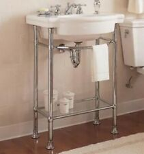 American Retrospect Console Table Legs in Polished Chrome 8711.000.002