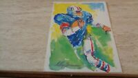 1988 USPS Leroy Neiman Super Bowl History Postcard - XXII - Redskins  Broncos EX