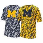 MICHIGAN WOLVERINES ADIDAS SIDELINE CLIMALITE SHOCK ENERGY TRAINING SHIRT MEN'S