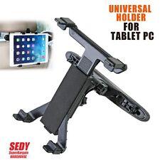 """Car Seat Headrest Universal Mount Holder Apple Samsung iPad Mini 7-12"""" Tablet"""