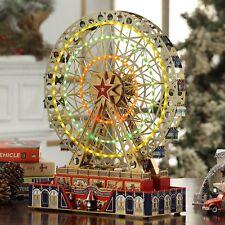 "Mr. Christmas Musical World's Fair Grand Ferris Wheel 25 Christmas Carols 15"""
