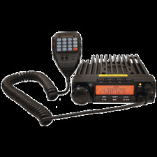 BlackBox Mobile Narrow/Wide Band Professional 2-Way Radio VHF 55 watts, 200 ch's