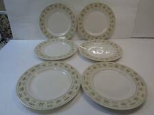 "Royal Doulton Tc1039 Samarra 6.5"" Bread Dessert Plate Set 6 English Translucent"