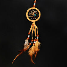 Dream Catcher with bead ornament feathers Handmade Hanging Decoration