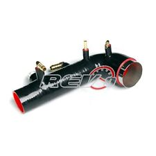 REV9 BLACK 02-07 WRX / STI GDA GDB EJ20 EJ25 TURBO INLET SILICONE DIRECT FIT