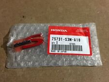 """New Oem Acura Cl Tl Rsx Dc5 K20 Chrome & Red """"Type S"""" Emblem Badge 75731-S3M-A10"""