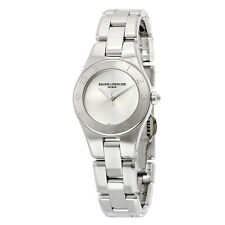 Baume et Mercier Linea Silver Dial Stainless Steel Ladies Watch 10138