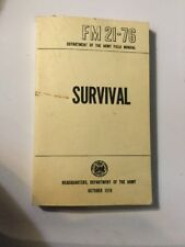 US ARMY SURVIVAL FM 21-76 Survive Bug Out Military Preppers USMC Books on CD