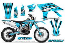 YAMAHA WR450F 2012-2013-2014 GRAPHICS KIT CREATORX DECALS SPEEDX BBLI