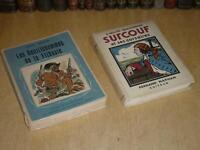 [MER MARINE CORSAIRES] 2 VOLUMES Illustrés SURCOUF / TREICH GENTILSHOMM.FLIBUSTE