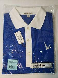 Peter Millar Grey Goose Vodka Mens Polo Golf Shirt Size M, NEW!