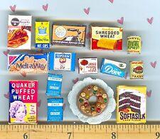 VINTAGE era DOLLHOUSE Miniature size Visual Grab Bag Sale Lot Fruitcake  # 2244
