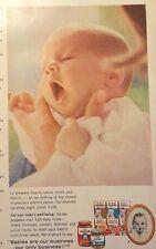 1963 Gerber Baby Food Advertisement