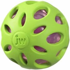 Crackle Heads Ball Dog Toy Large - GREEN MSRP $12.99