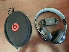 Beats by Dr. Dre Solo Over the Ear Headphones - Black and Red - One Side Works