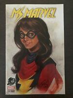 Ms. Marvel Kamala Khan #1 2016 Variant Comic Book Disney