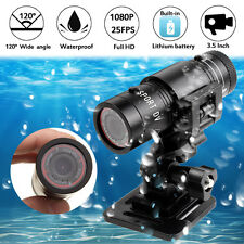 HD 1080p Helmet Head Camera Waterproof Sport Action Cam Car Bike Camcorder DVR