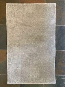 Mediu Light Grey Plain Soft Shaggy Non-Shed Rug Mat Kitchen Floor Cheap 80x150cm