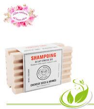 shampooing solide à la kératine et au lait d'anesse bio cheveux secs et abimés