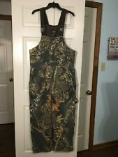 Red Head Hunting Bibs Camo Size M Zip Side Legs Pockets Front & Back