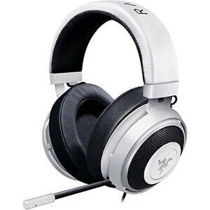 Razer Kraken Pro V2 Gaming Headset PC/Mac/PS4/Xbox One Gamer Earphone - White