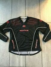 Empire night paintball jersey /. top in black/ red - size XXL