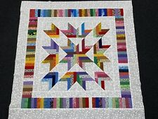 Scrappy Baby Quilt Top  - Lots of Color