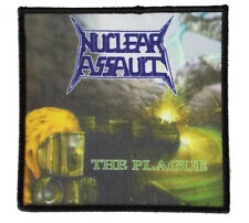 Nuclear Assault-The sfruttarlo ricamate patch rarità 10x10cm