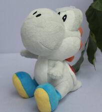 New Super Mario Bros. Gray Yoshi Plush Stuffed Animal Nintendo Authentic Doll