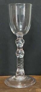 Antique 18th Century Georgian Air Twist Glass